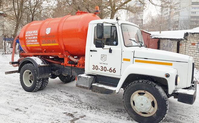 Услуги ассенизаторского автомобиля