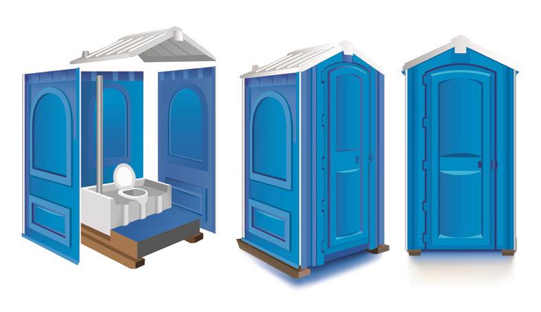 Туалетные кабины